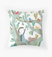 In The Tree Throw Pillow