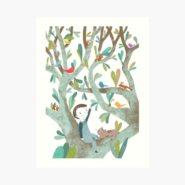 In The Tree Art Print