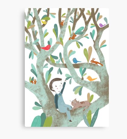 In The Tree Canvas Print