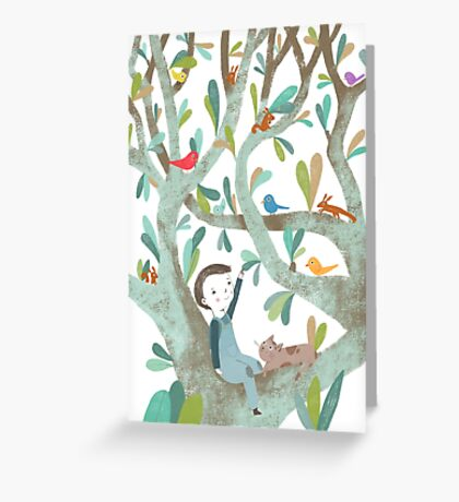 In The Tree Greeting Card