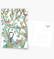 In The Tree Postcards