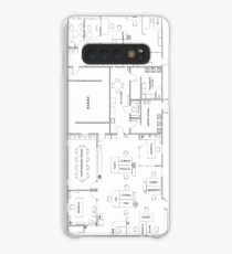 The Office Floor Plan Case/Skin for Samsung Galaxy