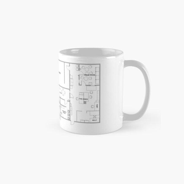 The Office Floor Plan Classic Mug