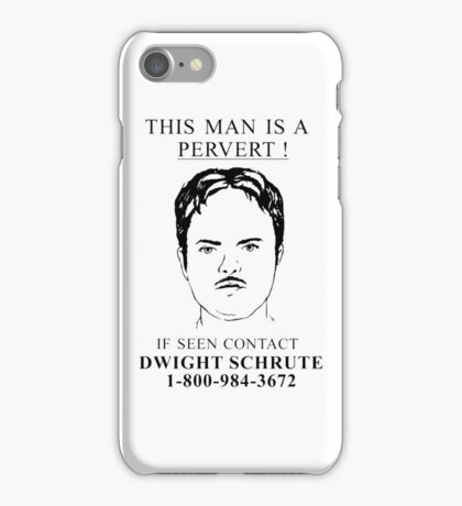 This Man is a Pervert iPhone Case/Skin