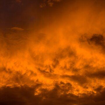 Golden Clouds by Chari-ot