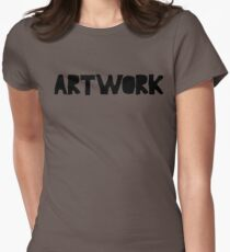 ARTWORK Womens Fitted T-Shirt