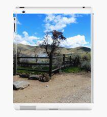 Fence Corner And Tree iPad Case/Skin