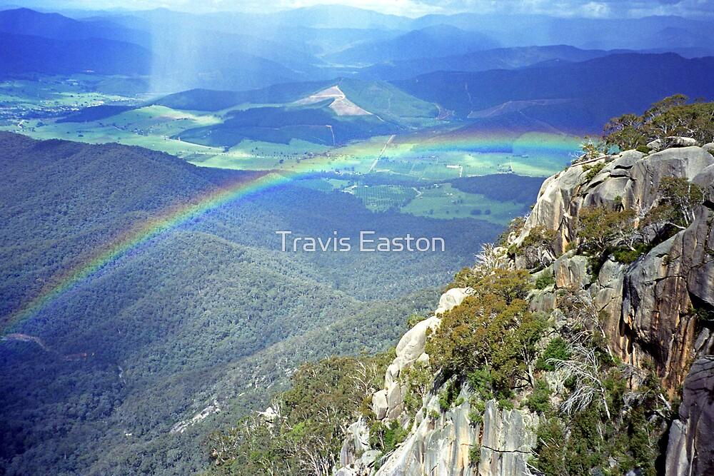 Rainbow - The Gorge by Travis Easton