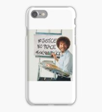 Bob Ross - Fuck The Police iPhone Case/Skin