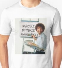 Bob Ross - Fuck The Police Unisex T-Shirt