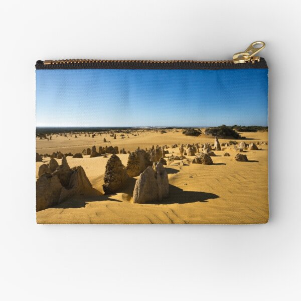 The Pinnacles, Western Australia Zipper Pouch