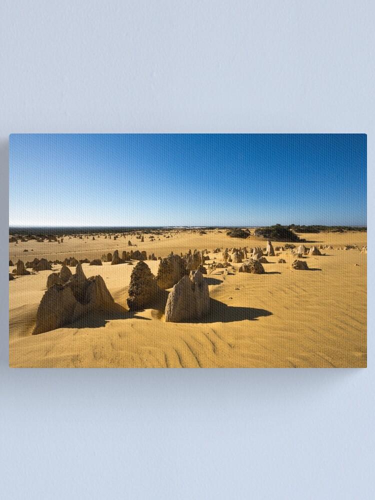 Alternate view of The Pinnacles, Western Australia Canvas Print