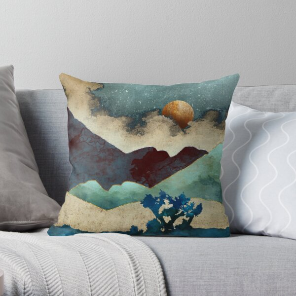 Evening Calm Throw Pillow