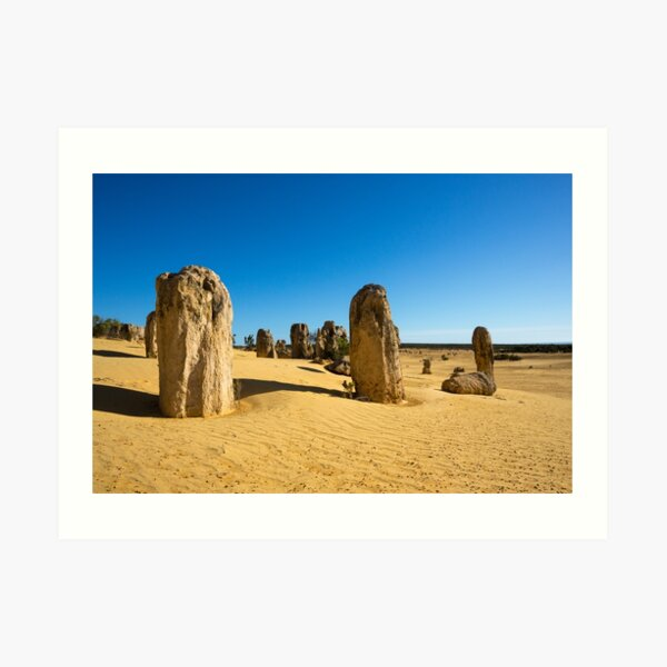 The Pinnacles, Western Australia Art Print