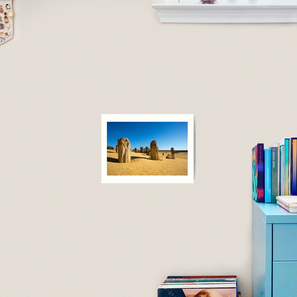 The Pinnacles, Western Australia Art Print