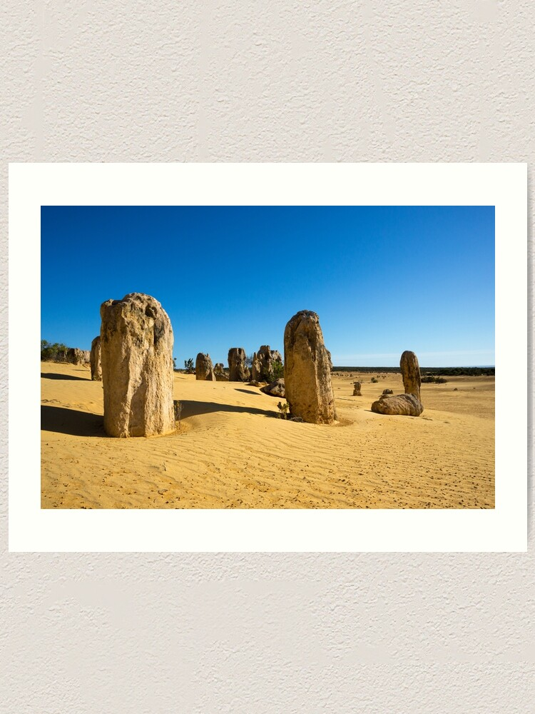 Alternate view of The Pinnacles, Western Australia Art Print