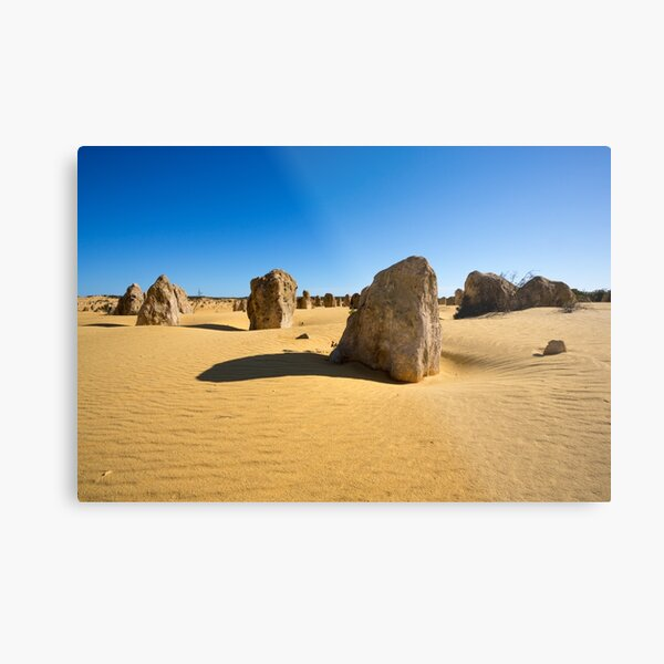 The Pinnacles, Western Australia Metal Print