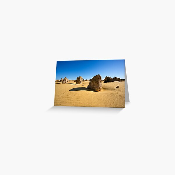 The Pinnacles, Western Australia Greeting Card
