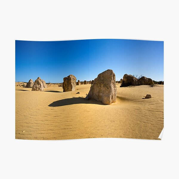 The Pinnacles, Western Australia Poster