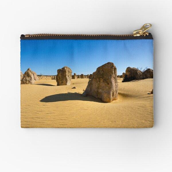 The Pinnacles, Western Australia Zipper Pouch