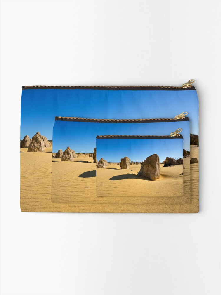 Alternate view of The Pinnacles, Western Australia Zipper Pouch