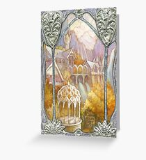 Elven window Greeting Card