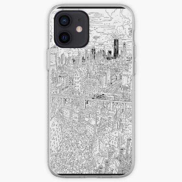 steampunkcity iPhone Soft Case