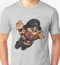 Camiseta unisex Papá de cuero
