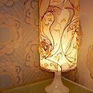 Handmade Paper Lamp  by Martina Stroebel