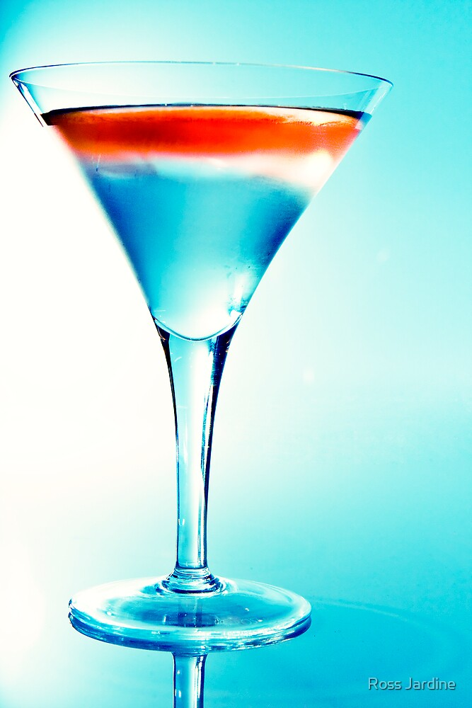 Cocktail in Blue by Ross Jardine