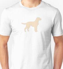 labrador retriever yellow lab silhouette Unisex T-Shirt