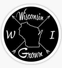 Wisconsin Grown WI Sticker