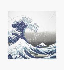 Große Welle, Hokusai 葛 飾 北 斎 の 沖浪 Tuch