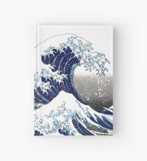 Cuaderno de tapa dura Gran ola, Hokusai 葛 飾 北 北 神奈川 沖浪 沖浪