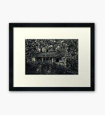 Abandoned House near Baddeck, Cape Breton Framed Print