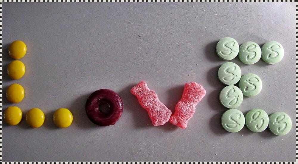 L-O-V-E by Melissa  Carroll