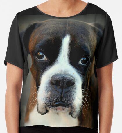 Erinnerung an Arwen - Boxer Dogs Series Chiffontop für Frauen