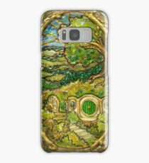 Stained-glass Shire Samsung Galaxy Case/Skin