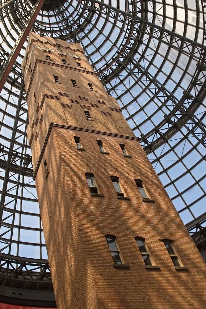 Melbourne: Shot Tower by Colin  Ewington
