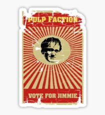 Pulp Faction - Jimmie Sticker