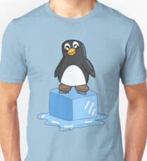 Penguin on ice Unisex T-Shirt