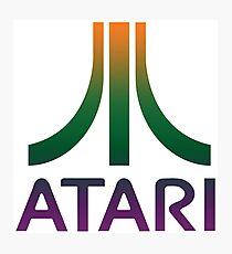 Atari Logo Photographic Print