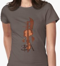 Buffy & Angel Womens Fitted T-Shirt