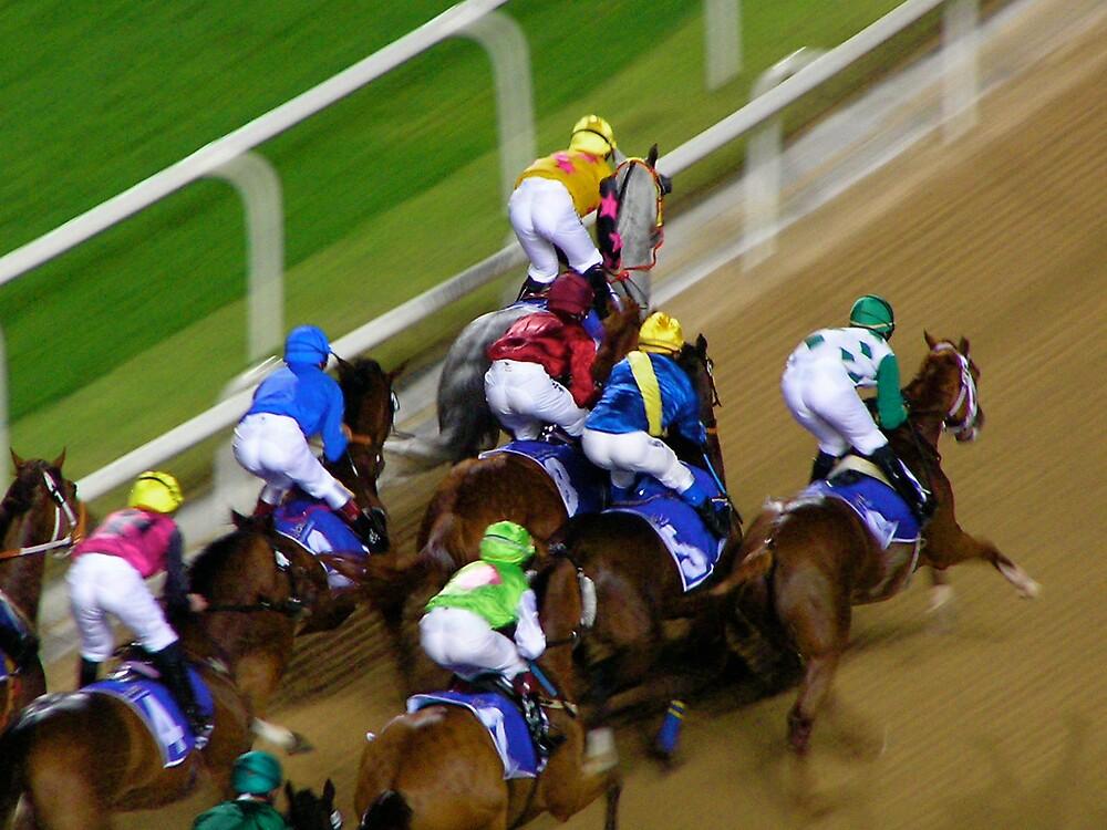 Dubai Night Races by Kiwikiwi