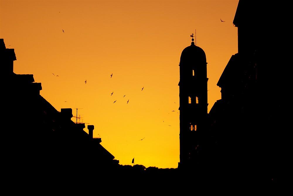 Sunset Dubrovnik by Kiwikiwi