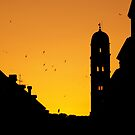 Sunset Dubrovnik by Kiwikiwi