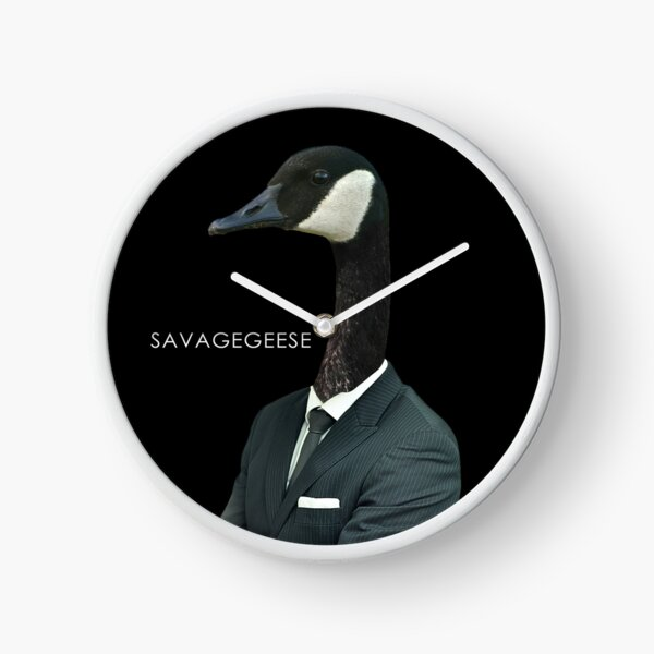 Gentleman Goose Clock