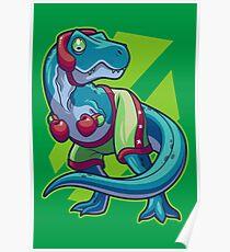 Boxing Rex Poster