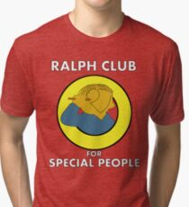 Ralph club for special people Tri-blend T-Shirt