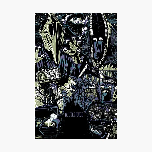 Beetlejuice - Adam & Barbara Photographic Print